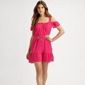 Oonagh by Nanette Lepore Pink Sun Dress
